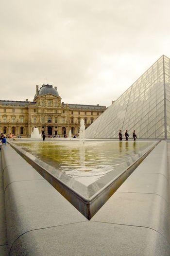 Architecture Capital Cities  Famous Place Louvre Museum Musée Du Louvre Paris Paris Will Always Be Paris... Paris, France  Pyramide Du Louvre Tourism Travel Destinations