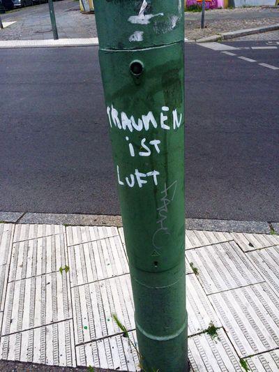 Das will ich doch meinen...und überhaupt...sind Träume doch das Tollste und Beste!! Berlin My Fuckin Berlin Großstadtromantik