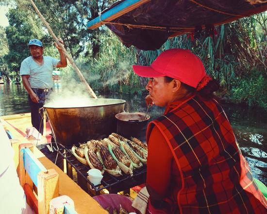 Xochimilco Colour Of Life Mexico Color
