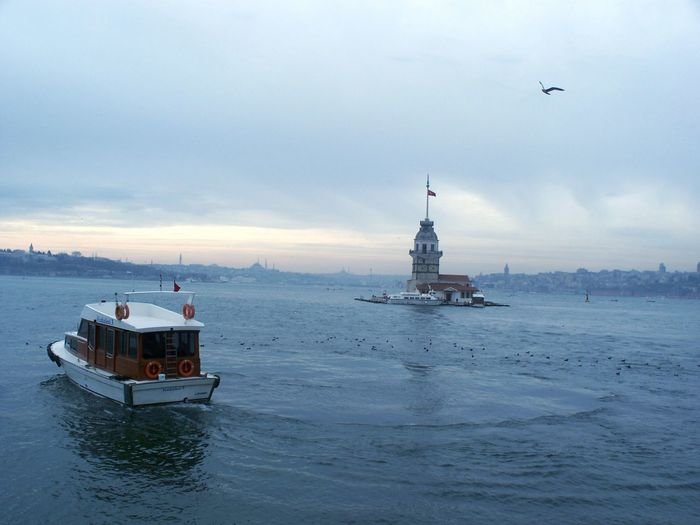 Nautical Vessel Sea Business Finance And Industry Outdoors Offshore Platform No People Sky Nature Day , Istanbul Turkey