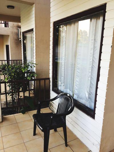 Belcony Window Chair Green