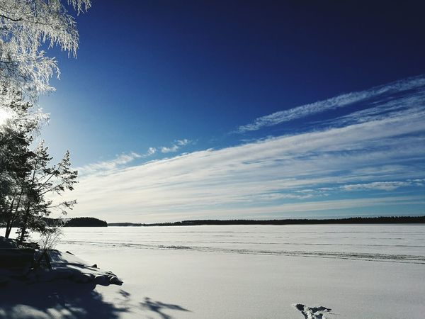 Nature No People Beauty In Nature Finland Winter Outdoors winter time Winter Wonderland Wintertime Clouds Cloud Sky And Clouds