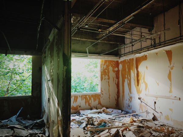 工地 Abandoned Damaged Run-down Obsolete Architecture Indoors  No People Building