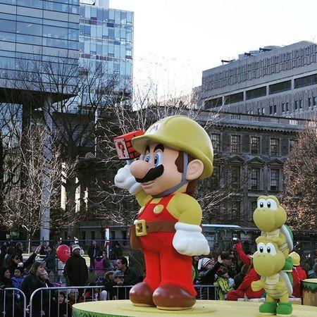 Yestergram Toronto Santaclausparade Canada Mario!!!