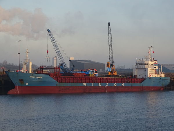 Commercial Dock Container Ship Industry Nautical Vessel Sea Shipping  Transportation Water