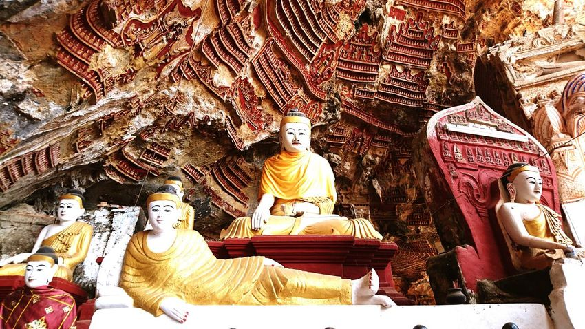 Beautiful caves with Buddha and amazing carvings. Hpa An Silvia In Myanmar Buddha Myanmar Carvings Asian Culture Buddhism