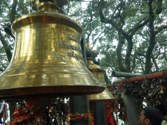 Tree Outdoors Day Low Angle View Nainital Hindu Temple Swastik Bells Mandir EyeEmNewHere Hinduism Ghorakhal Temple Nainital Miles Away