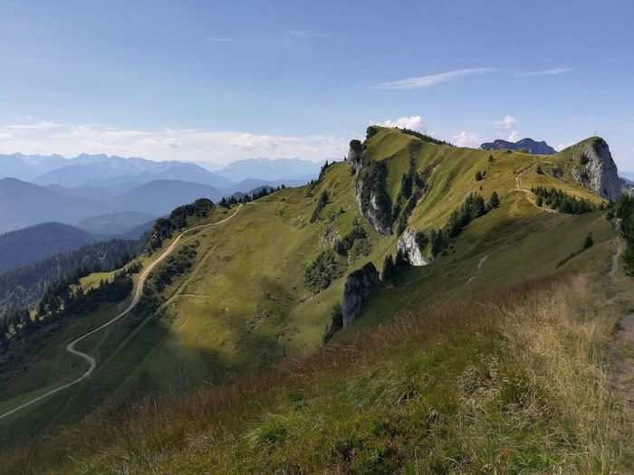 Mountain Landscape Nature Mountain Range No People Grass Germany Nature