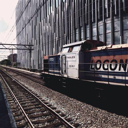 Departing Train Train Station
