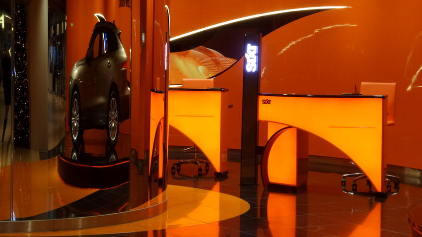 Architecture Cars Orange Reflection Renting A Car Abstract Architectural Feature Car Car Rental Close-up Detail Detailphotography Details Textures And Shapes Flooring Furniture Home Interior Illuminated Indoors  Lighting Equipment No People Orange Color Reflection Rental Still Life Table The Traveler - 2018 EyeEm Awards EyeEmNewHere