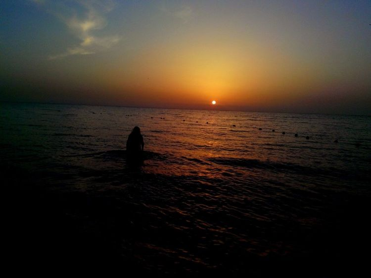 Sunrise Contemplating Beauty Lost In Space... Lost In Thought...