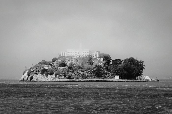 Alcatraz Alcatraz Island Alcatraz In Sight Sanfrancisco San Francisco California Monochrome Travelphotography California Coast San Francisco Bay