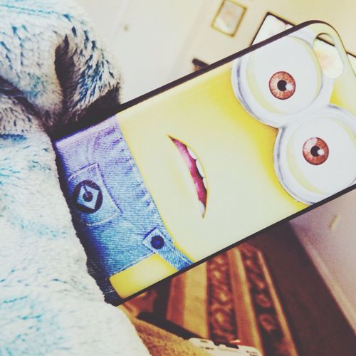 Love my new case Minion  Case 5C Dispicable Me
