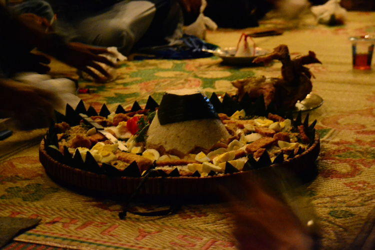 Ini namanya tumpeng makanan tradisonal indonesia Tradisonal Food Kulinerindonesia Eyemfood