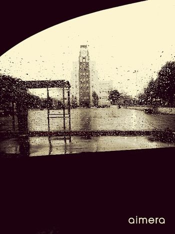 Lomas Grey Day Car Pic Rain Square Clock Argentina Buenosaires EyeEm Best Shots