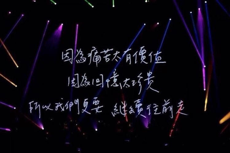 所以我們更要繼續往前走 陳綺貞 時間的歌 Taiwan Taipei Taipei Arena 2013 Music Concert Cheer Cheerchen
