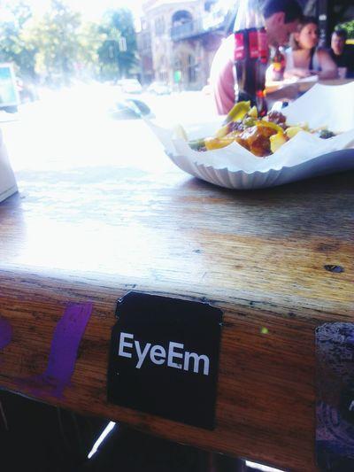 EyeEm Sticker beim essensticker Berlin