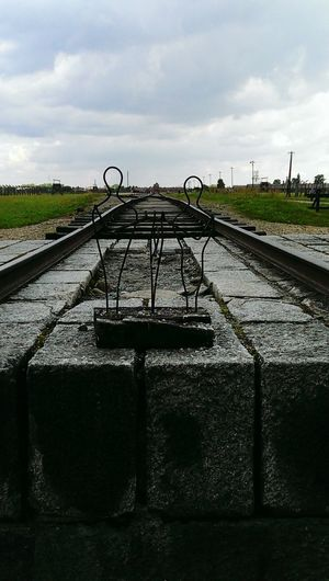 Aushwitz End Family Life Life End Of Rail Track Death Cry Hope Dreams Freedom