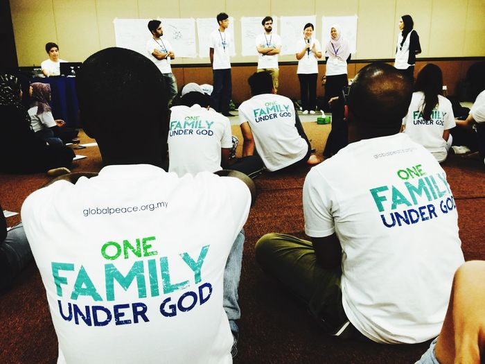 We are One family under God