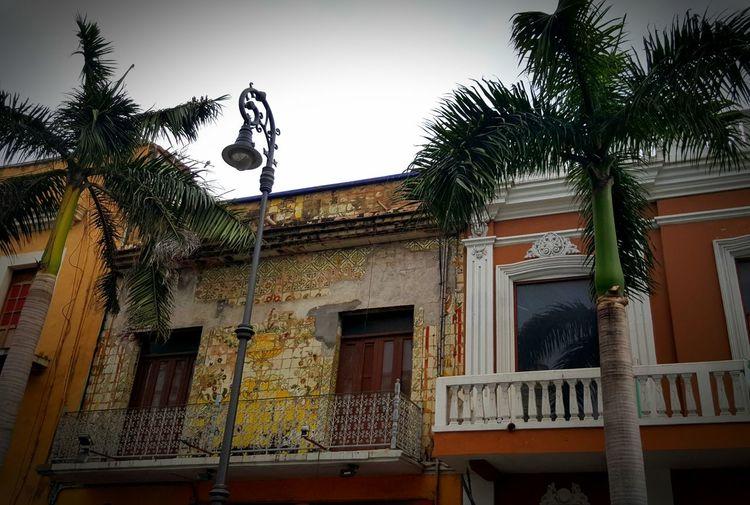 Façade Veracruz Mexique