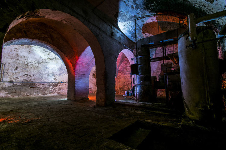 Abandoned Buildings Arch Arched Architectural Column Architecture Architecture ARTsbyXD Basement Building Exterior Built Structure Cellar Colors And Patterns Day Dramatic Angles History Keller Lost Places Lostplaces Narrow No People The Way Forward Urban Exploration Urbex Urbexphotography Xd_arts