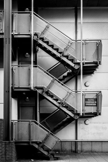 Low Angle View Of Staircase In Building