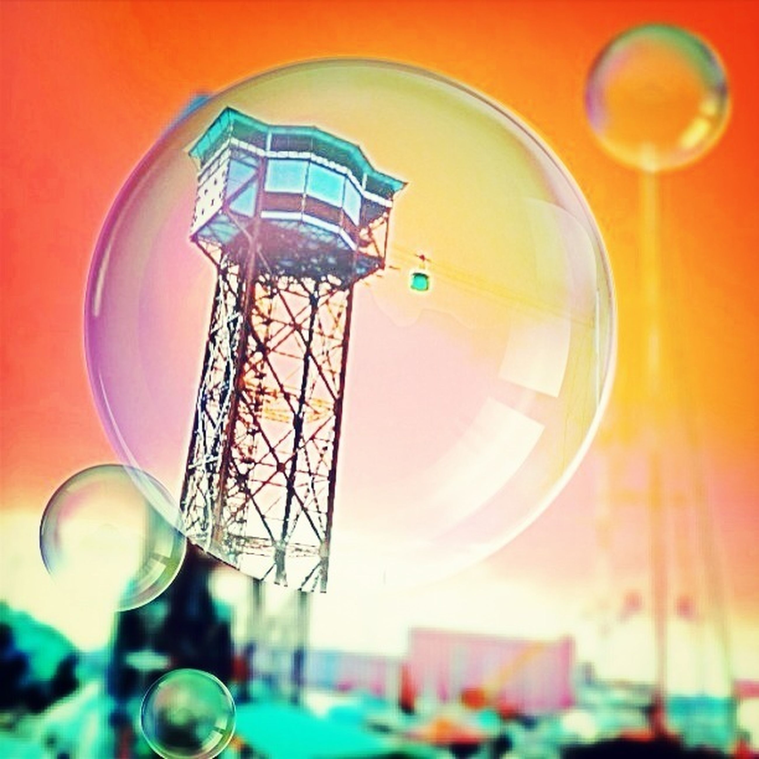 low angle view, lighting equipment, illuminated, circle, built structure, architecture, indoors, sphere, multi colored, hanging, arts culture and entertainment, blue, decoration, electric light, glass - material, geometric shape, no people, close-up, electric lamp, building exterior