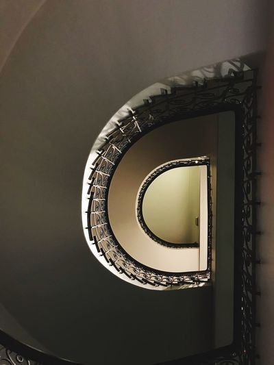 Staircase Wormhole Wendeltreppe Staircase Steps And Staircases Steps Spiral Architecture Spiral Stairs Railing Design Built Structure Stairs No People Indoors  Hand Rail