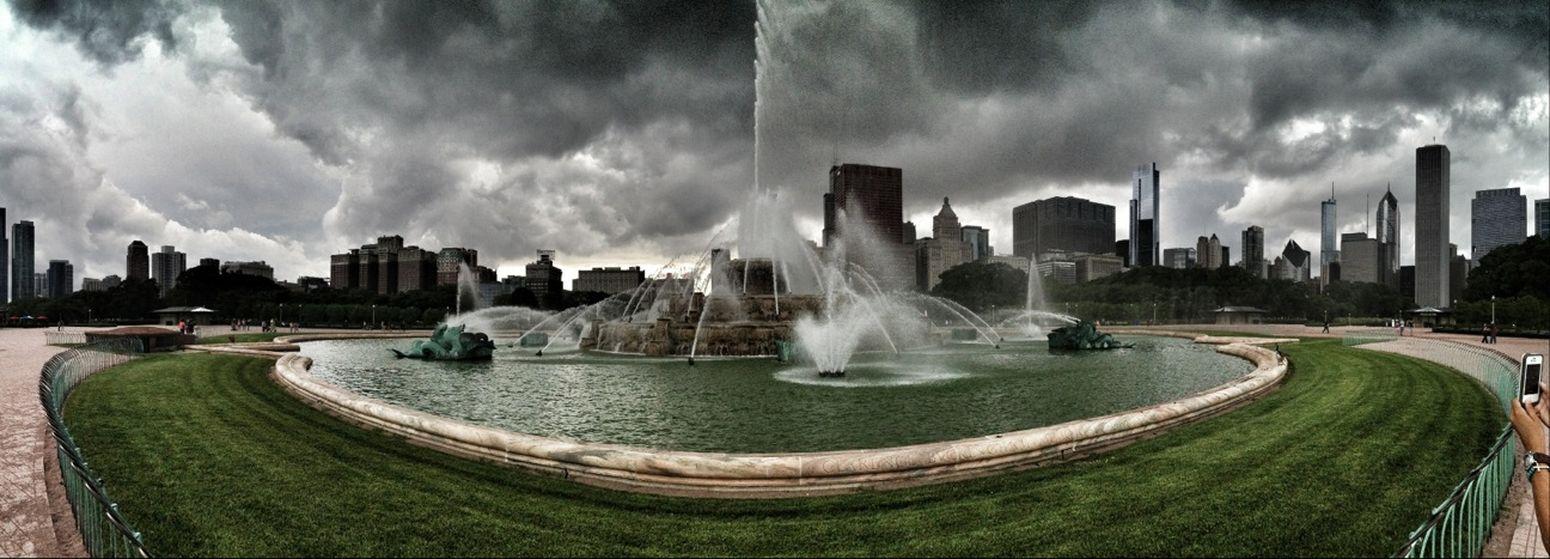 Storm Fountain