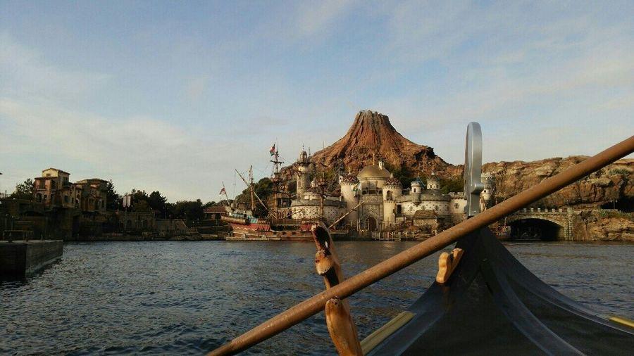 Tokyo Disney Sea TDS Disney 2014 Morning ヴェネツィアンゴンドラ In Venetian Gondolas ディズニーシー シー