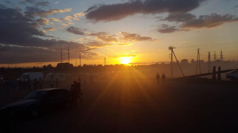 Latvia Daugavpils Afterdrift Nofilter#noedit Sunset Kaef
