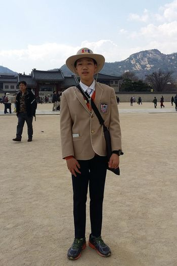 Ju-An Youth Cultural Programme Palace Guide Volunteer Koreanyouth Gyeongbokgung Palace, Seoul Joseon Dynasty 1392 -1897 Seoul South Korea Seoulspring2017