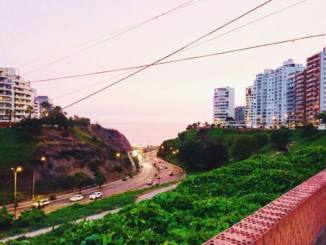 Costa Verde toma al atardecer #Lima Transportation Road Built Structure Building Exterior City Outdoors No People Day Nature