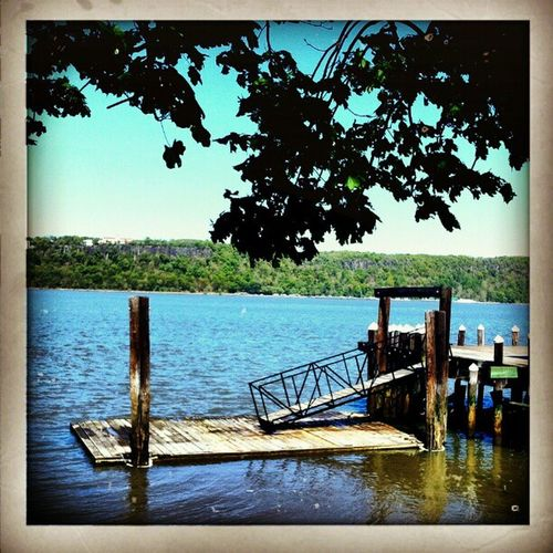 Inwood Canoe Club Pier Instagramuptown Inwood Dyckman Dyckmanmarina washingtonheights newyork city nyc newjersey hudsonriver dock pier