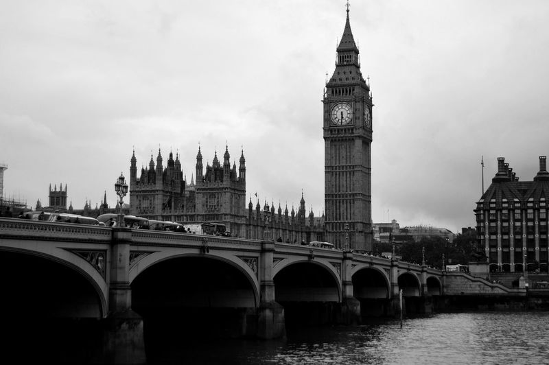 Architecture Bigben Black And White Clock Tower London London City Preto E Branco Travel Travel Destinations The Photojournalist - 2017 EyeEm Awards The Great Outdoors - 2017 EyeEm Awards Connected By Travel