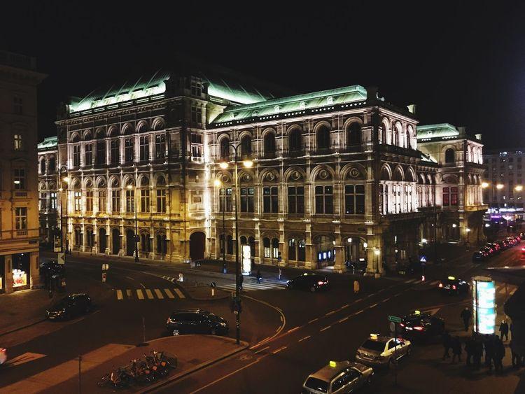 Night photography | Stunning architecture Vienna Iphonephotography IPhoneography Night Photography First Eyeem Photo