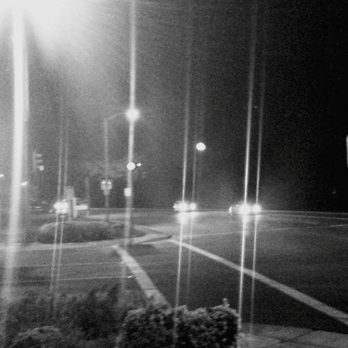 Bright Light Traffic Waiting At The Traffic Light