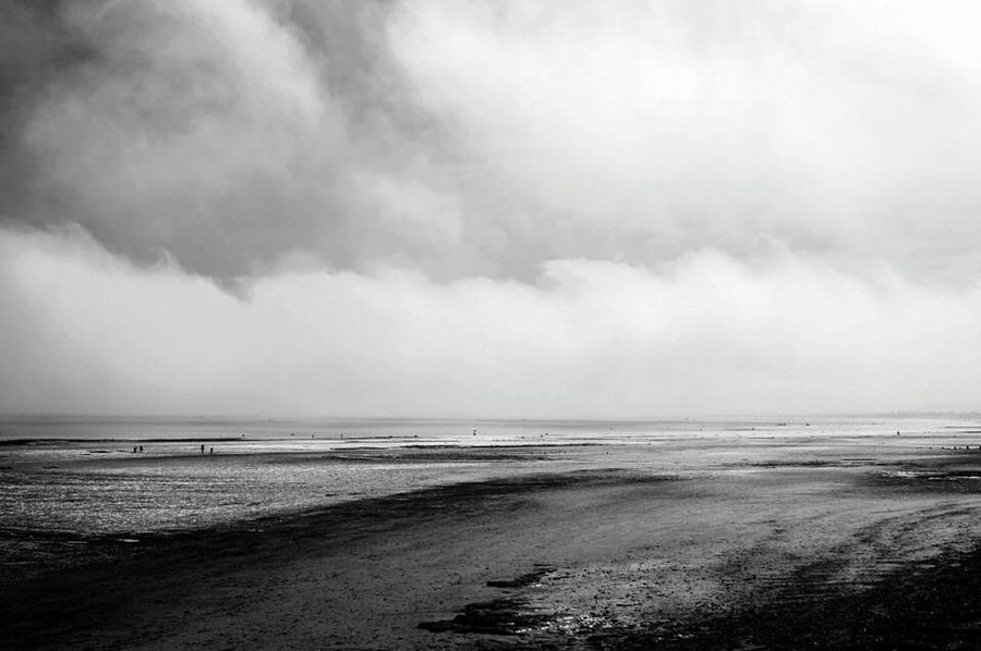 Holiday POV Normandie B&w Nature Sea