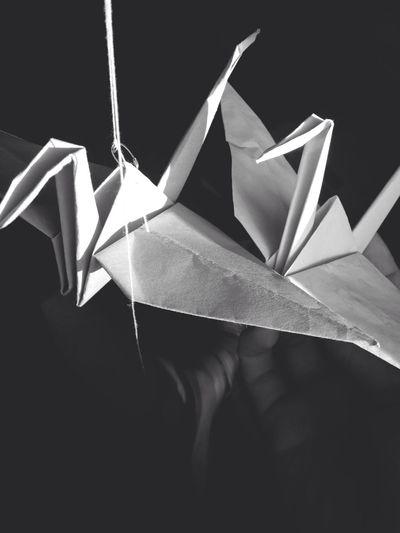 Don Filter Blackandwhite Monochrome Origami Paper View