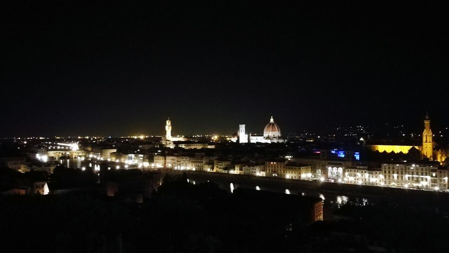 Piazzalemichelangelo Amazing View High View Iseeall Point Of View Arno River Ponte Vecchio Santa Maria Del Fiore Palazzo Della Signoria Florence Italy Wonderful City Wonderful View Spectacular Lights Night 2:00AM Itstoolate Comeinitaly Amazing Italy Picoftheday