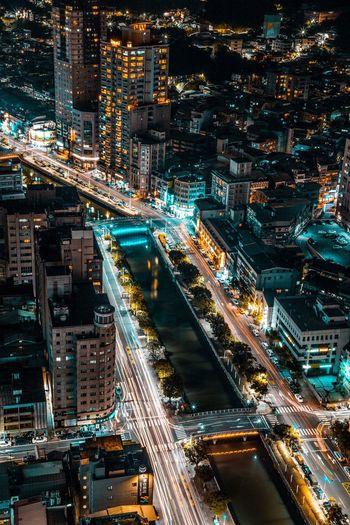 Rooftop Rooftops Rooftop View  Urban Urbanexplorer EyeEm EyeEm Best Shots Cityscape City City Life Night Street Night Lights Nightshot EyeEm Taiwan Taiwan