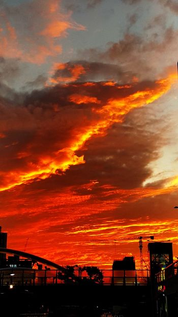 Volcano Sky And City Sillouette EyeEm Selects Rear View EyeEmNewHere RedSky Red Rare Nature Sunset Multi Colored City Awe Dramatic Sky Orange Color Silhouette Sky Cloud - Sky Landscape Romantic Sky Moody Sky Sky Only Dramatic Landscape Cloud Skyline Cloudscape