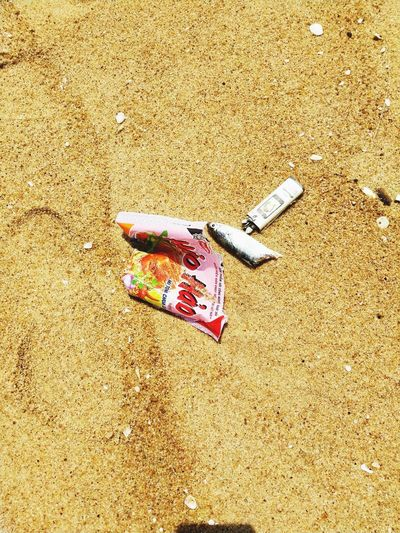 Plastic Outdoors Outdoor Photography Beach Dirty Dirty Dead Animal Fish Lighter Garbage Pollution Plastic Beach Sand Sunlight High Angle View Close-up FootPrint Shore Things That Go Together Water Pollution Environmental Damage