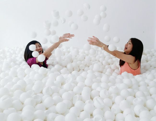 Like Kid At Heart ❤ Balls Ballpit Seaofballs IncrediBalls
