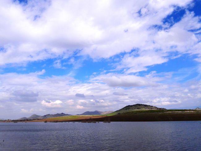 Lake Mountains And Sky