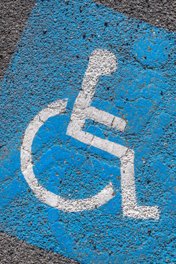Outdoor Area Asphalt Background Blue Car Chair City Disability  Disabled Driver Gray Grey Grunge Handicap Handicapped Icon Infrastructure International Lot Nobody Painted Park Parking Pavement Permit Place Priority Reserved Retro Road Sign Space Spot Street Symbol Tarmac Traffic Transport Transportation Urban Vertical Wallpaper Wheelchair White