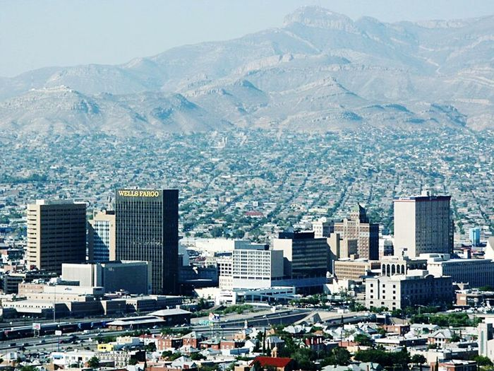 El Paso Skyline Cityscape City View  City Landscape Citybestpics Citylife
