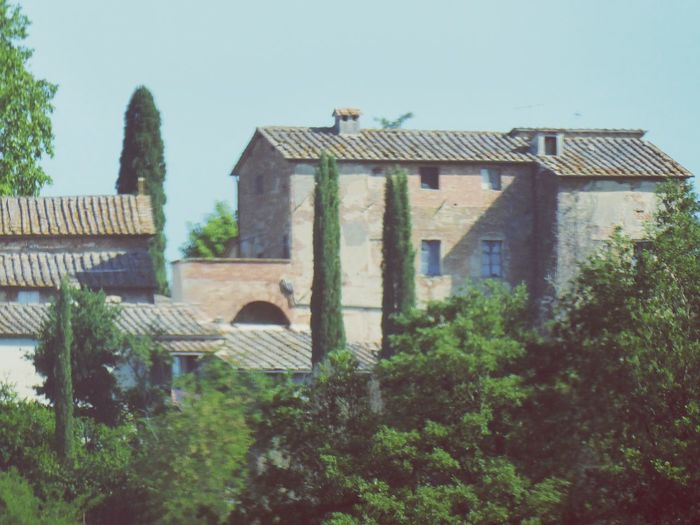 Italy🇮🇹 Architecture Built Structure Building Exterior Roof No People Outdoors Day Tiled Roof  Brick Wall Toscana Landscape Landscape Montepulciano Grapes 🍇 Wine Moments Sunlight Winefields Buildings Wineyards Growth Toscana Montepulciano Toscana Italy