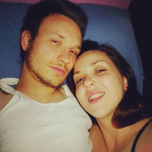 Hung over selfies with my love! Can't wait till we can do this again! Relaxing Quality Time True Love