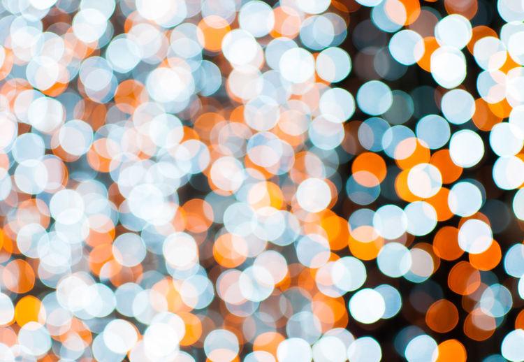 Colorful Bokeh background image. Abstract Backgrounds Christmas Lights Circle Decoration Defocused Design Electric Light Full Frame Geometric Shape Glowing Illuminated Lens Flare Light Light - Natural Phenomenon Lighting Equipment Night No People Pattern Shape